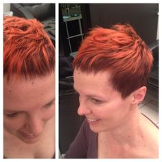 Joanne rocking her latest haircut and colour change by Bethany Inez. All For Mary - Redefining the salon experience www.allformary.com