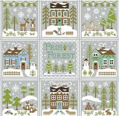 Frosty Forest Series Pattern Pack