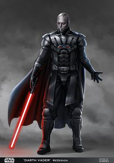 DARTH VADER - ReDesign 2 (MAY The 4th SpeciaL!) by sadeceKAAN