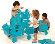 #Zabawka, która nigdy się nie znudzi: #Puzzle 3D, Mon Petit Art to #kreatywne spędzanie czasu przez twoje #dziecko.