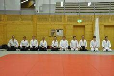 Aikido Kyuprüfung am 9.12.2013 in Wels: Prüflinge nach der Aikido Prüfung