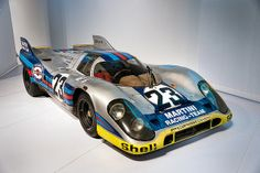 Porsche by Design Exhibition - Louise Piëch's Martini Racing Team 1971 Type 917K 019 - preserved as it was last raced   Flickr - Photo Shari...