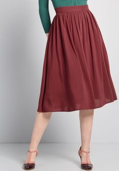 8d25b6d97d Match Made Midi Skirt - Your blouses, sweaters, and tees could use a new