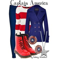 Cap. america Disneybound
