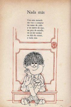 Tutú Marambá, María Elena Walsh (Ed. Sudamericana, 1976).  | Ilustraciones de Pedro Vilar More Than Words, Verses, Poems, Collage, Comics, Imagination, Free, Children's Literature, Classroom Birthday