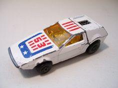 Matchbox supersnelle Tanzara Diecast auto 1972 Matchbox Toys, Lesney No. 53, Vintage