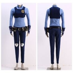 Zootopia rabbit Judy outfit Cosplay costumes