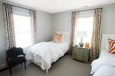 Guest/College Girl Bedroom designed by Isabella in Charlotte