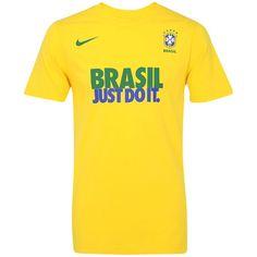 10365e2402069 Camiseta Nike Brasil CBF Core - Masculina