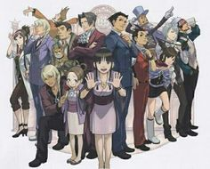 Ace Attorney Main Characters