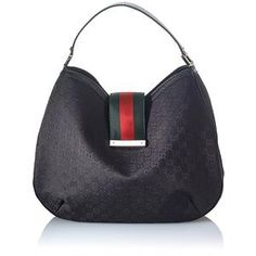 Gucci New Ladies Web Large Hobo Handbag - great idea for inner bag shape.
