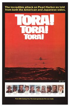 Tora! Tora! Tora! The story of the attack on Pearl Harbor by the Empire of Japan, Dec 7 1941.