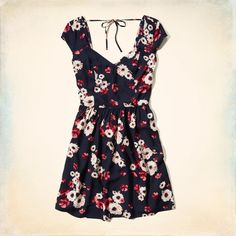 Girls Stands Point Skater Dress | Girls Dresses & Jumpsuits | HollisterCo.com