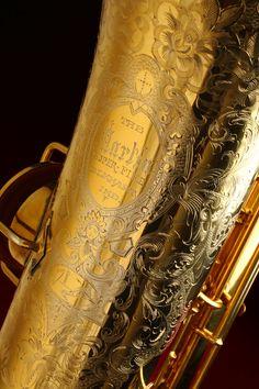 Martin, Handcraft, Super-Fine, tenor sax, gold plated tenor sax, vintage saxophone, bell engraving