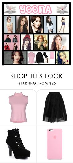 """""""Yoona"""" by catlover18 ❤ liked on Polyvore featuring Topshop"""