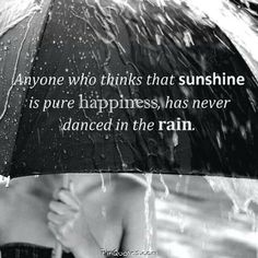 Or ran across a parking lot in a torrential downpour holding hands and laughing the whole way