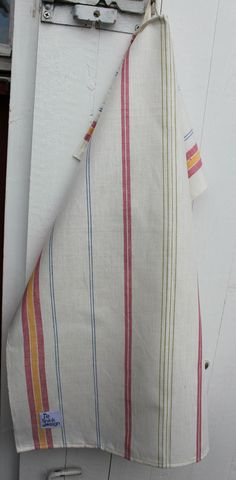 Towels in cotton with stripes old fashioned by ReDesignandReCycled, kr76.00