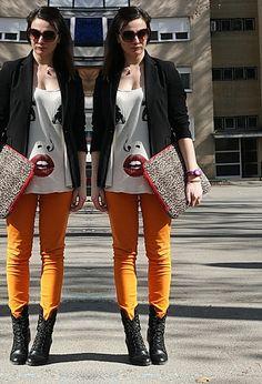 Crazy in orange  #fashion #style