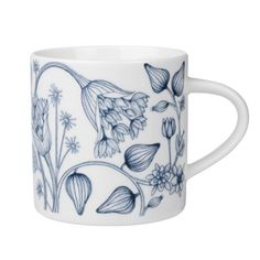 Runo mug 0,35 l, Winter Star http://www.finnishdesignshop.com/tableware-dishware-arabia-runo-runo-mug-035-winter-star-p-4255.html