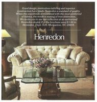 Etonnant Henredon Couch 1986 Ad Picture