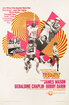Sixties | Cop-Out, starring James Mason, Geraldine Chaplin and Bobby Darin, 1968