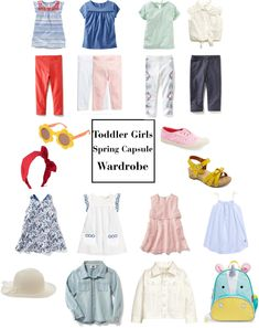 Toddler Girls Spring Capsule Wardrobe