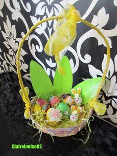 Easter Basket filled with surprises