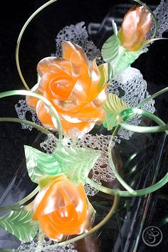 Gallery - CE - Art of Pastillage, Pulled, Blown and Casted Sugar Showpieces | The French Pastry School