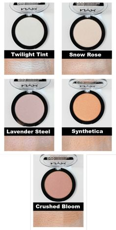 NYX Duo Chromatic Illuminating Powders (ALL 5) | Review & Swatches!!