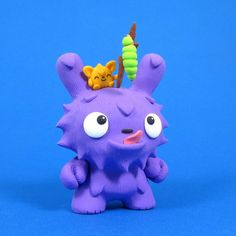 Jenn and Tony Bot Monstrosity Show kidrobot dunny