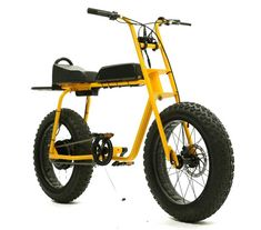 Ride a Pineapple: Fat tire two-wheeler is essentially an electric moped Mountain Bike Accessories, Mountain Bike Shoes, Cool Bike Accessories, Mountain Biking, Go Karts, Bmx, Arte Lowrider, Electric Moped, E Biker