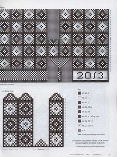 Piecework Interweave 00033 Knitting Charts, Knitting Stitches, Hand Knitting, Knitting Patterns, Mittens Pattern, Knit Mittens, Knitted Gloves, African Textiles, Knitting Magazine
