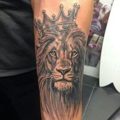Lion Tattoo.                                                                                                                                                                                 More