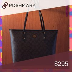 💎MAKE ME AN OFFER I CAN'T REFUSE💎 I went overboard with buying handbags for my birthday. I like it but not much as the others. My loss is your gain. Used for one week as a work tote. No Visible Signs of Wear or Tear. I can post more pictures upon request. This can be yours 💓💓💓. 🔹MAKE ME AN OFFER!!!🔹 Coach Bags Totes