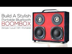 Suitecase boombox (build) - YouTube