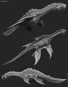 Alien Stingray creature.