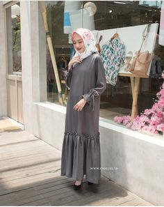 Trendy Dresses, Modest Dresses, Simple Dresses, Nice Dresses, Casual Dresses, Abaya Fashion, Muslim Fashion, Fashion Dresses, Muslim Dress