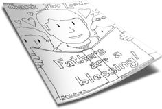 These FREE Father's Day Coloring Pages are perfect to use in Children's Ministry, Children's Church, or Sunday School. Sunday School Lessons, Sunday School Crafts, Lessons For Kids, Childrens Ministry Deals, Kids Ministry, Church Ministry, Ministry Ideas, Church Activities, Craft Activities