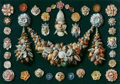 dosartistas:  Jan van Kessel the Elder, (1626-1679).(vía 1280px-Van-Kessel-Festons-masques-Fondation-Custodia.jpg)