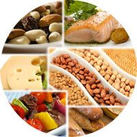 Protein plays a big role in maintaining health and well-being of the human body.  Most importantly, proteins help to build and maintain muscle tissue.  In addition, proteins help to detoxify the liver by removing waste products, produce hormones that regulate mood and sleep, and provide feelings of satiety.