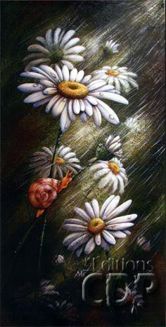 Marguerites parapluie par Julie Duplantie                                                                                                                                                                                 Plus