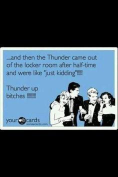 Thunder up!!!!