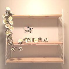 The Little Village: DIY String pocket Organization, Room, Shelves, Home, Fun Projects, Furniture Diy, Floating Shelves, Home Diy