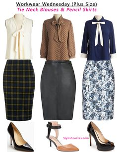 Plus size work outfit ideas.