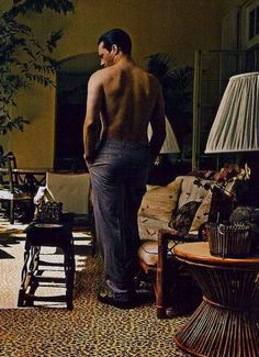 Even his back side makes me quiver. LOL