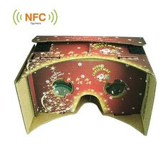 Christmas Gift 3D DIY Cardboard Virtual Reality VR Glasses For iPhone
