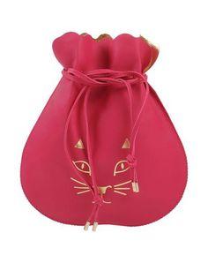CHARLOTTE OLYMPIA Handbag. #charlotteolympia #bags #leather #clutch #hand bags #