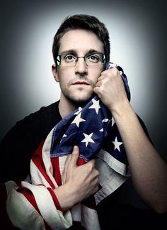 Edward Snowden by Platon