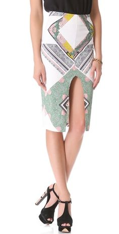 Shona Joy We Surrender Pencil Skirt | SHOPBOP