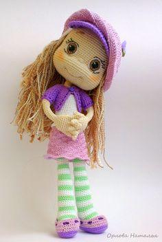 Шарлотта - Вязаные ребетёнки - Галерея - Форум почитателей амигуруми (вязаной игрушки)